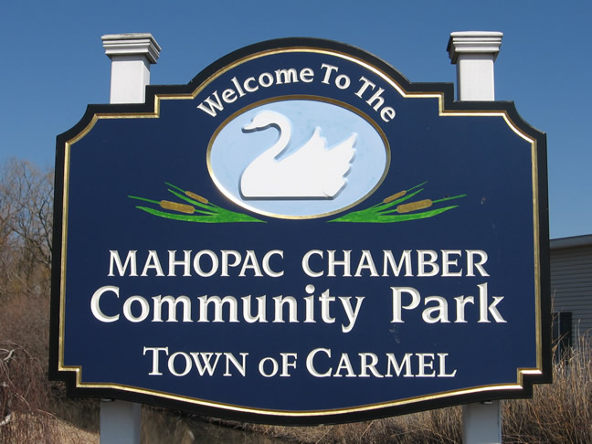Mahopac Chamber Community Park Sign