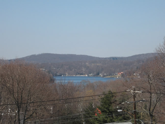 Lake Mahopac from Lakeview School