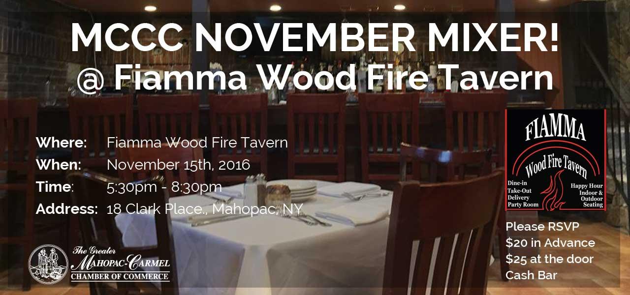 Fiamma's Wood Fire Tavern, Mahopac